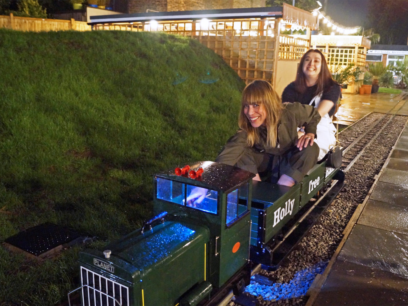 Come down to the Holly Tree to ride our mini train!